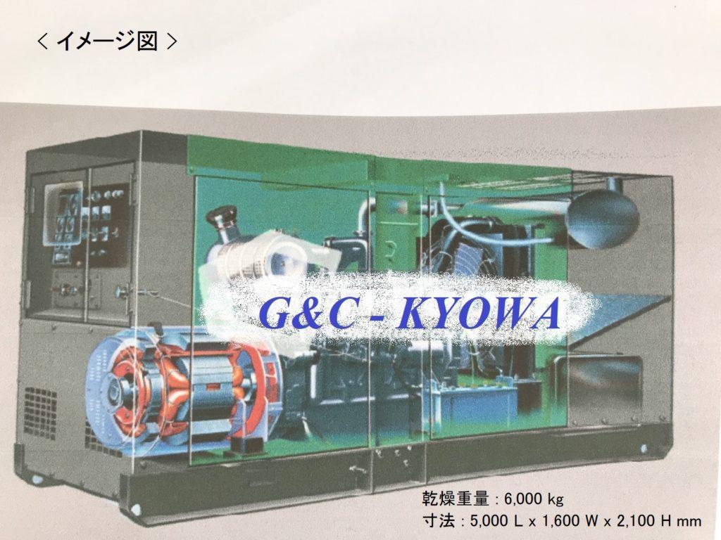G&C KYOWA Diesel Engine Generator